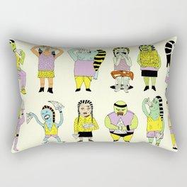 KIDS AND PIZZA Rectangular Pillow