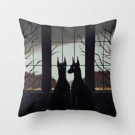 Sentinels Throw Pillow