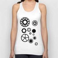 gears of war Tank Tops featuring Gears by Prince Of Darkness