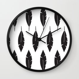 Petite feathers Collection Wall Clock