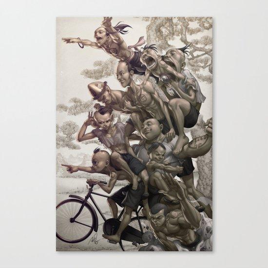 Ten Brothers Canvas Print