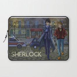 Sherlock fanart Laptop Sleeve