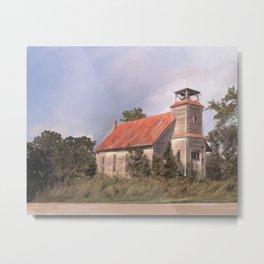 State Rd. Church Metal Print