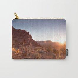 Setting Desert Sun Carry-All Pouch