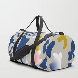 Leo Sea Peace Print by Anthea Missy Duffle Bag