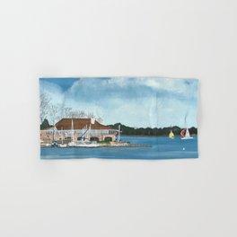 Jackson Yacht Club Hand & Bath Towel