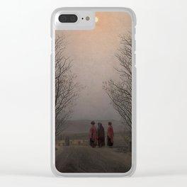 Caspar David Friedrich / Easter Morning Clear iPhone Case
