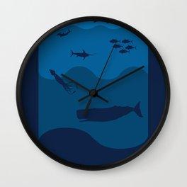 Oceans Alive Wall Clock