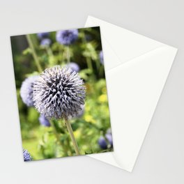 Globe Thistle Stationery Cards