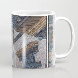 BHAKTAPUR NEPAL BRICKS WINDOWS WIRES Coffee Mug