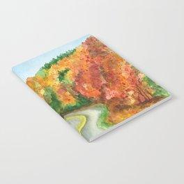 Autumn Road Notebook
