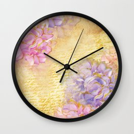 Luv Letter Wall Clock