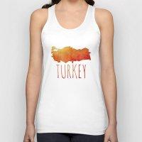 turkey Tank Tops featuring Turkey by Stephanie Wittenburg