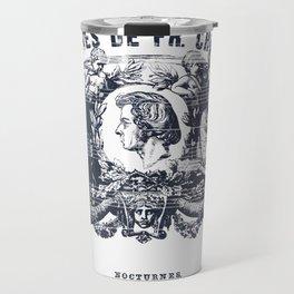 Frederick Chopin Nocturne art Travel Mug
