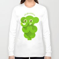ganesha Long Sleeve T-shirts featuring Ganesha by Plushedelica