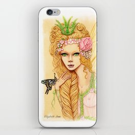 Butterfly Whispers iPhone Skin