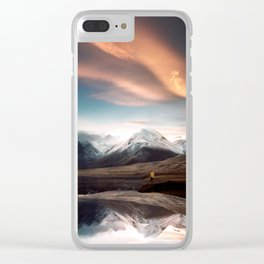 Find you there Clear iPhone Case