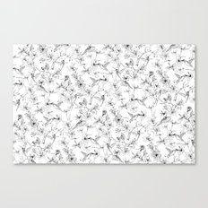 the forest of hummingbirds Canvas Print