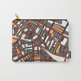 Abstract Map - Porter Square Somerville Carry-All Pouch