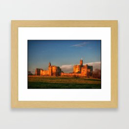 Walkworth Castle Framed Art Print