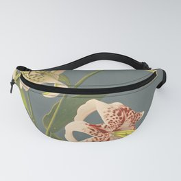 Light of the Lily -  Japanese Vintage Art Print Fanny Pack