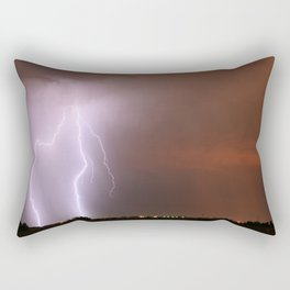 Before the Moon Rises Rectangular Pillow