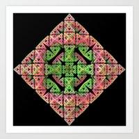 diamond Art Prints featuring Diamond by Lyle Hatch