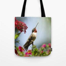 Hummingbird Guardian Tote Bag