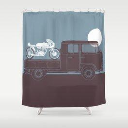 furgoncino Shower Curtain