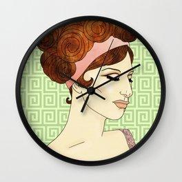 Barbra Wall Clock