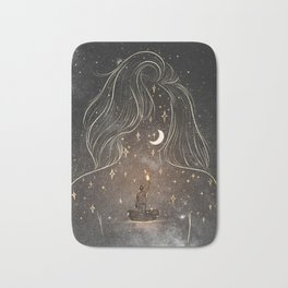 I see the universe in you. Bath Mat