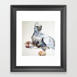 Buckbeak Framed Art Print