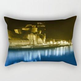Colorful Guggenheim Rectangular Pillow