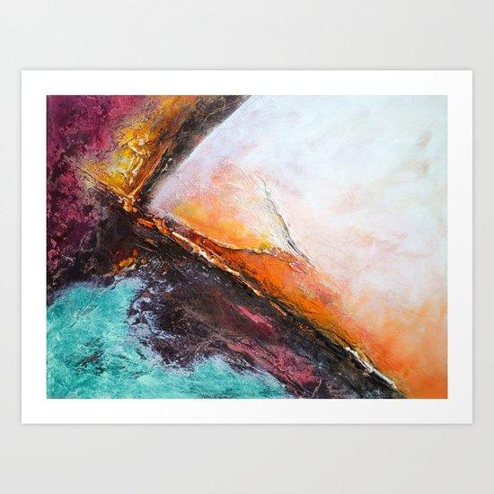 COLOR ENERGETIC Art Print