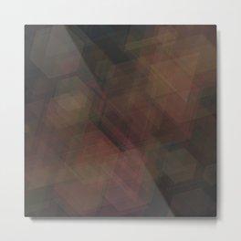 triahex Metal Print