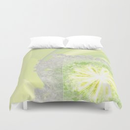 Triptychs Unveiled Flower  ID:16165-114729-45271 Duvet Cover