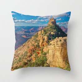 The Sinking Ship at Grand Canyon South Rim Throw Pillow