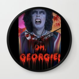 "Rocky Horror - ""IT"" - Sweet TransvestITe Wall Clock"