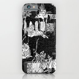 Labyrinth of the Tiger King iPhone Case