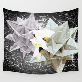 Galactic Collisions Wall Tapestry