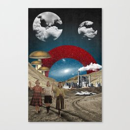Modern Vintage Collection  -- Uncertain Future Canvas Print