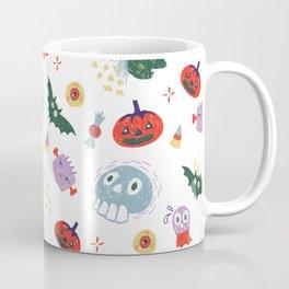 Spooky Halloween Pattern Coffee Mug