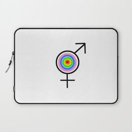 Symbol of Transgender 43 Laptop Sleeve