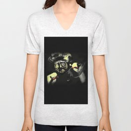 Self-portrait Unisex V-Neck
