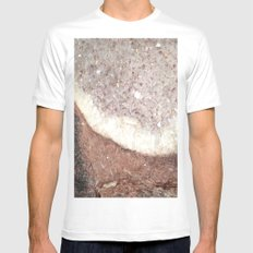 crystals Mens Fitted Tee White MEDIUM