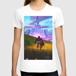 zelda black mist garden T-shirt