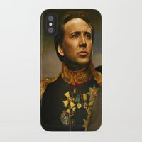 cage iPhone & iPod Cases featuring Nicolas Cage - replaceface by replaceface
