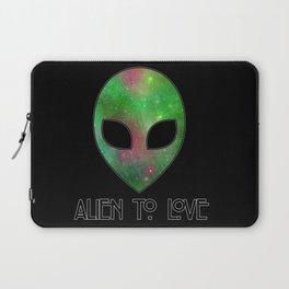 Alien to Love - GREEN Laptop Sleeve
