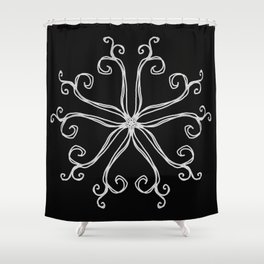 Five Pointed Star Series #10 Shower Curtain