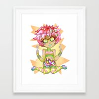 gore Framed Art Prints featuring Candy Gore by DreaminInsomniac